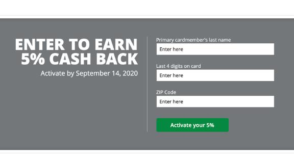 You can activate the Chase Freedom bonus categories online in just minutes.