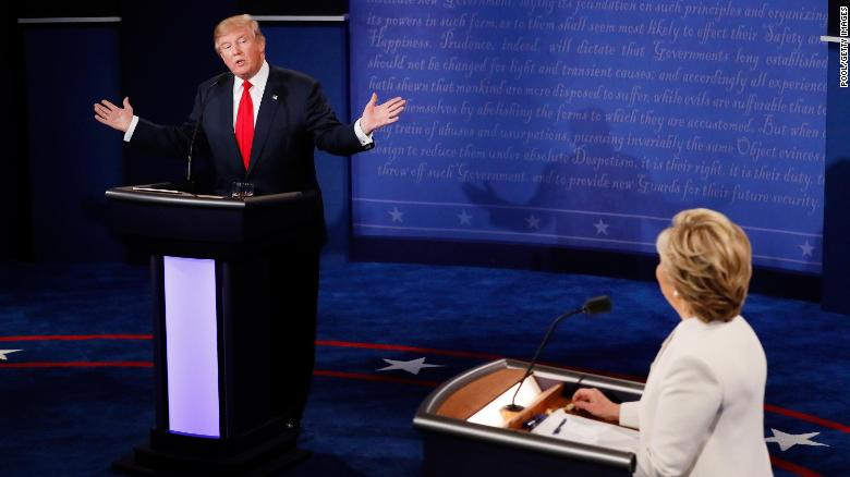 Donald Trump's seat-of-his-pants presidency hurtles toward the debates