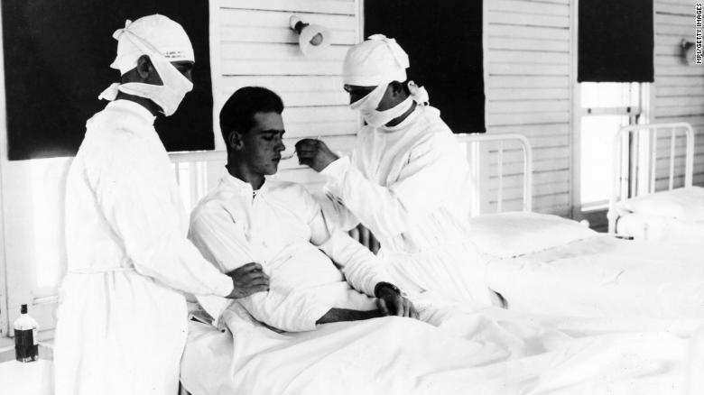 The 1918 flu caused Halloween cancellations across the US. It could happen again