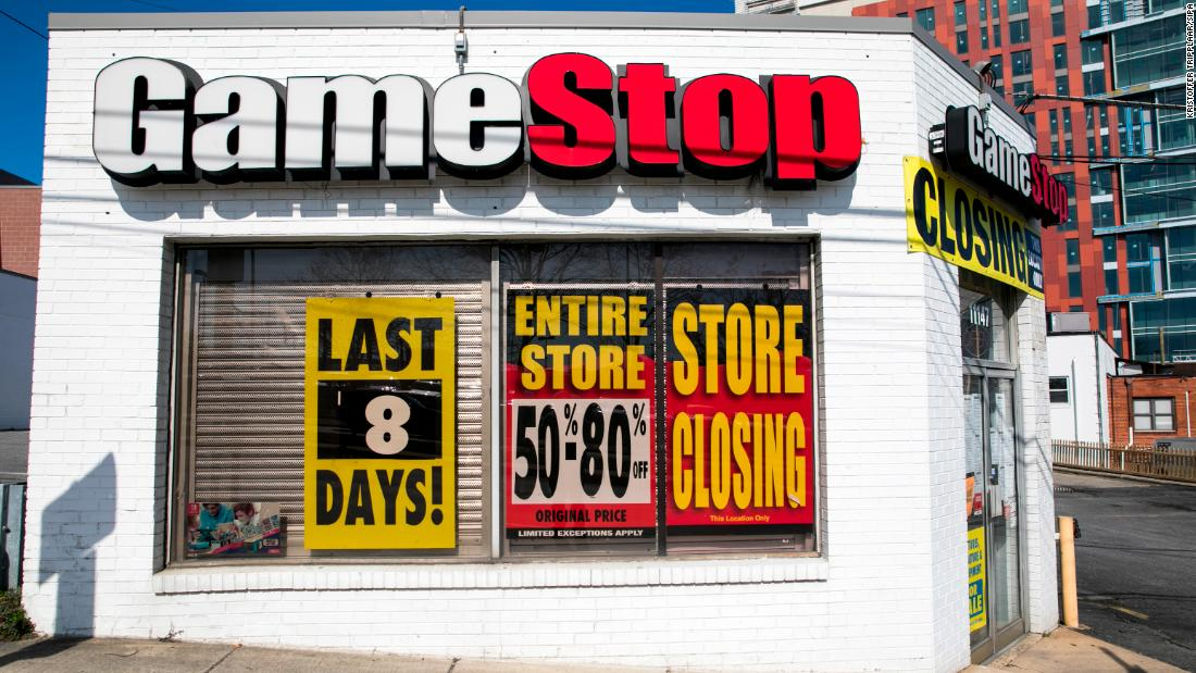 Image result for gamestop closing cnn