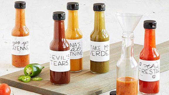 Haz tu propio kit de salsa picante