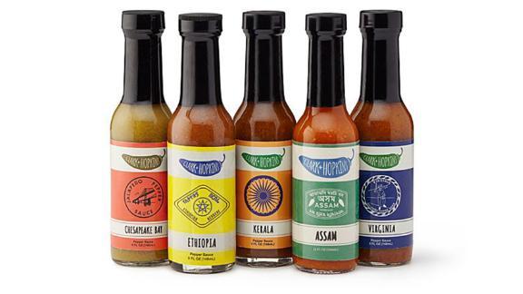 Caja de regalo de salsa caliente global