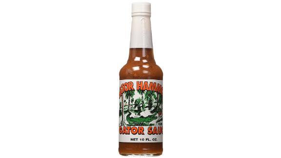 Salsa caliente de hamaca Gator