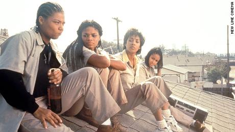 "Queen Latifah, Kimberly Elise, Vivica A. Fox and Jada Pinkett Smith in ""Set it Off"" (1996)."