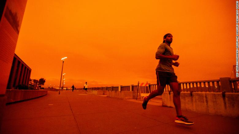 In California's smoke-filled horizon, it's become hard to breathe