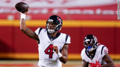 Deshaun Watson was unable to lead the Texans to victory.