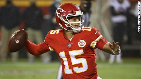 Chiefs quarterback Patrick Mahomes showed why he's one of the most dangerous players in the game after throwing for three touchdowns.