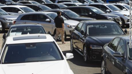 Sales of used cars are booming