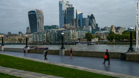 The United Kingdom contracted more than any other developed economy in the second quarter.