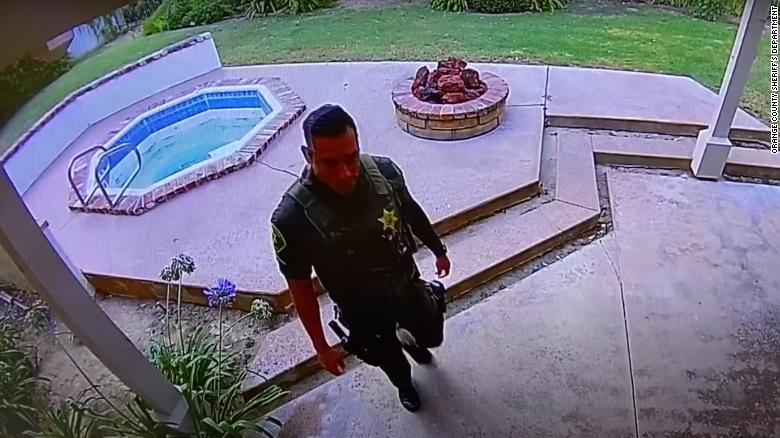 A sheriff's deputy allegedly burglarized a home after responding to a death there