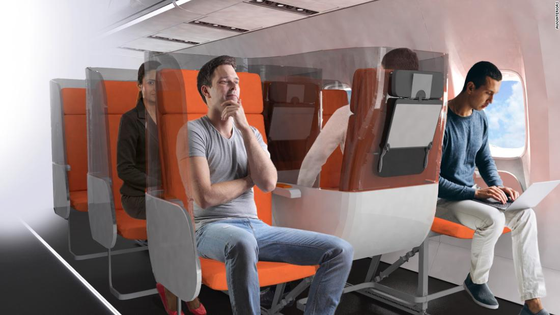 Is the great Covid-19 airplane seat overhaul happening?
