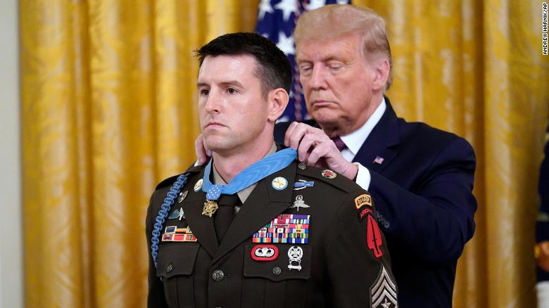 Trump awards the Medal of Honor to Army Ranger on 9/11 anniversary