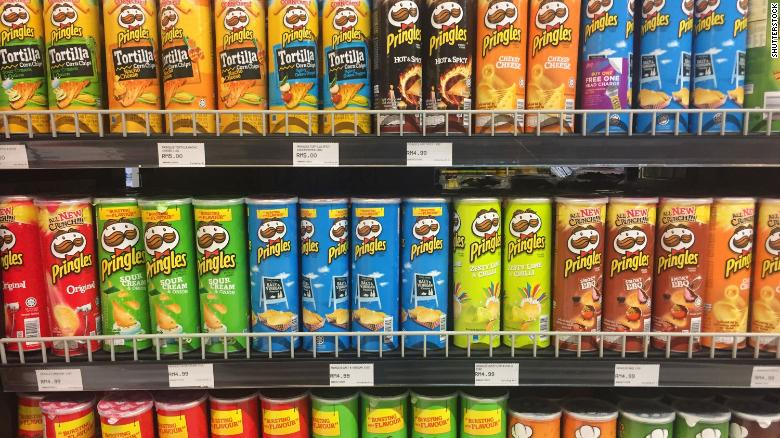 Pringles is testing a new can design after a recycling group dubbed it the 'number one recycling villain'