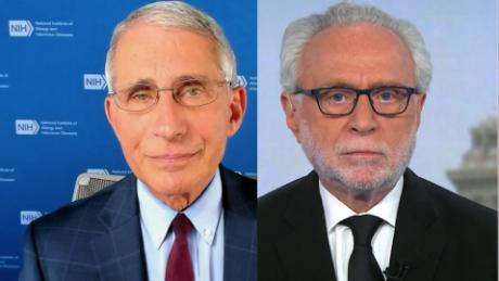 Blitzer to Fauci: Who should we trust, you or President Trump?