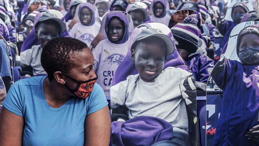 This Ravens superfan died at 14. His face will fill the seats on Sunday