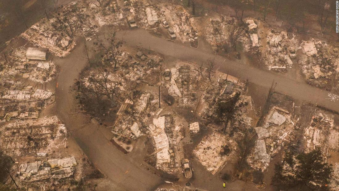 Some communities burned to the ground this week and about 500,000 people have been either ordered to evacuate or warned to be prepared to evacuate