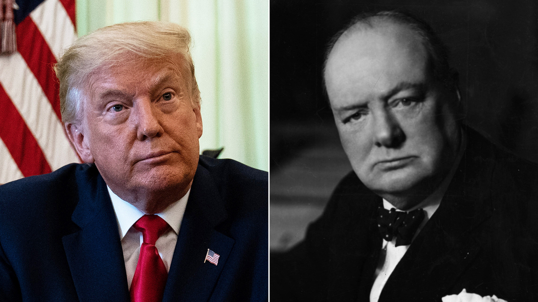 Fact check: Trump says his coronavirus deception was Churchillian. Scholars of Churchill say he's wrong