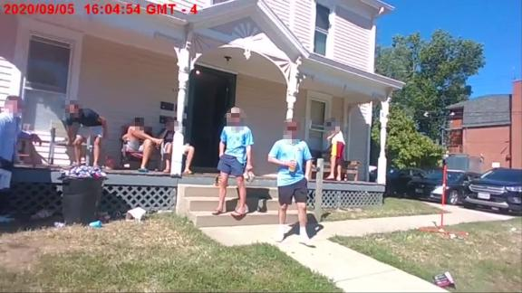 Image for Ohio college students were cited after hosting a house party despite testing positive for Covid-19
