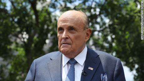 After Trump's defeat, Giuliani was put in charge of the post-election legal battle