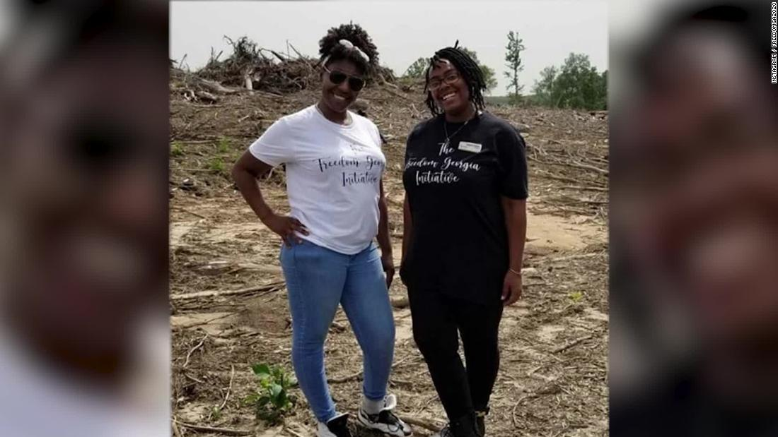 90 acres in rural Georgia purchased as a safe space for Black people