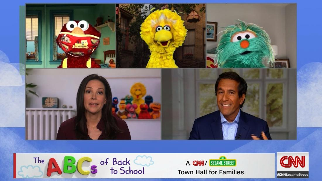 Best moments from CNN and Sesame Street's 'Back to School' coronavirus town hall