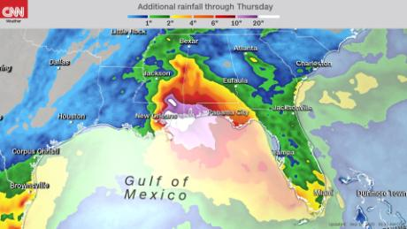 Tropical Storm Sally expected to make landfall as a hurricane near New Orleans 3