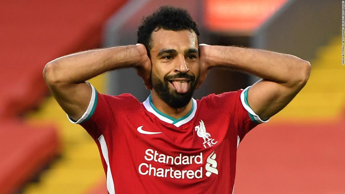 Mo Salah hat trick sinks Leeds in seven-goal Premier League thriller