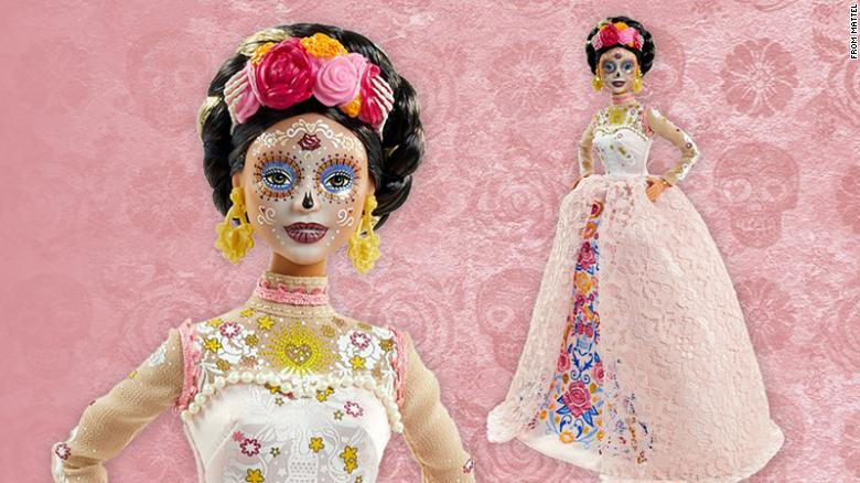 Some say a 'Day of the Dead' Barbie is guilty of cultural appropriation. Its designer says it is celebrating tradition
