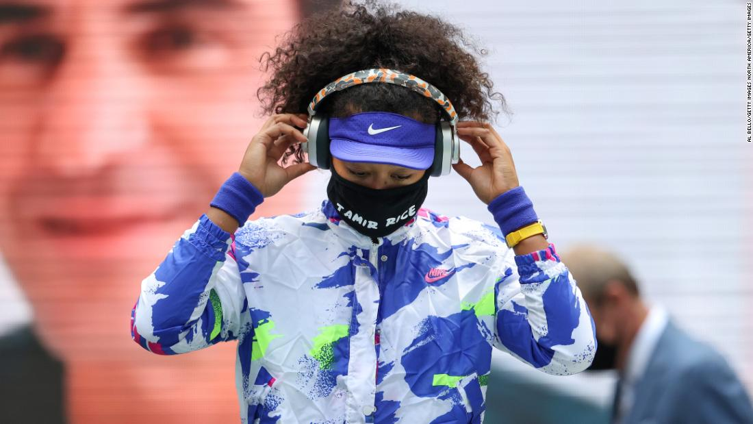 These were the Black victims Naomi Osaka honored on face masks at the US Open