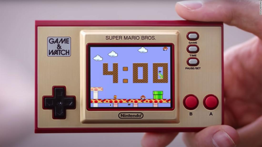 Nintendo is bringing back a super-retro handheld from the 1980s