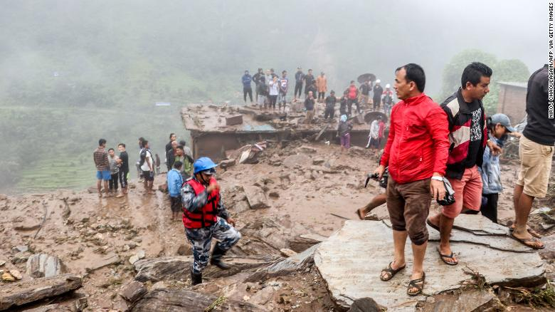 Nepal landslide killed at least 11 people, 20 others remain missing