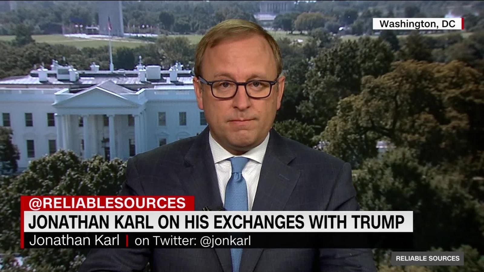 Jon Karl on the moment he asked Trump 'Why did you lie?' - CNN Video