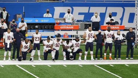Here's how NFL Sunday games highlighted racial inequality in the US