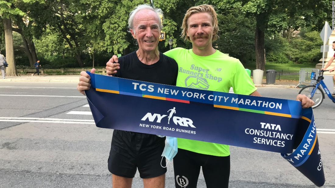 New York City Marathon's first winner retraces race course 50 years later