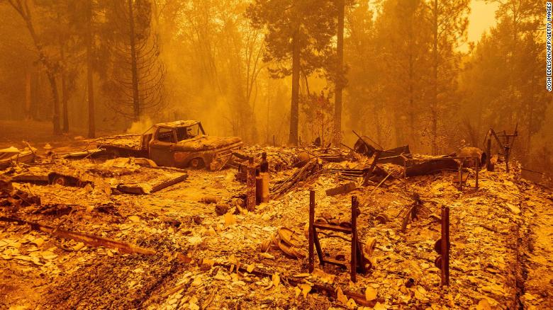 Trump renews climate fight in visit to fire-ravaged West Coast