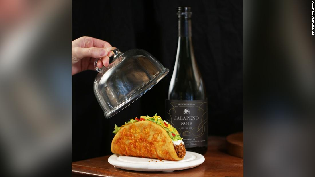 Taco Bell is now selling its own custom wine  image
