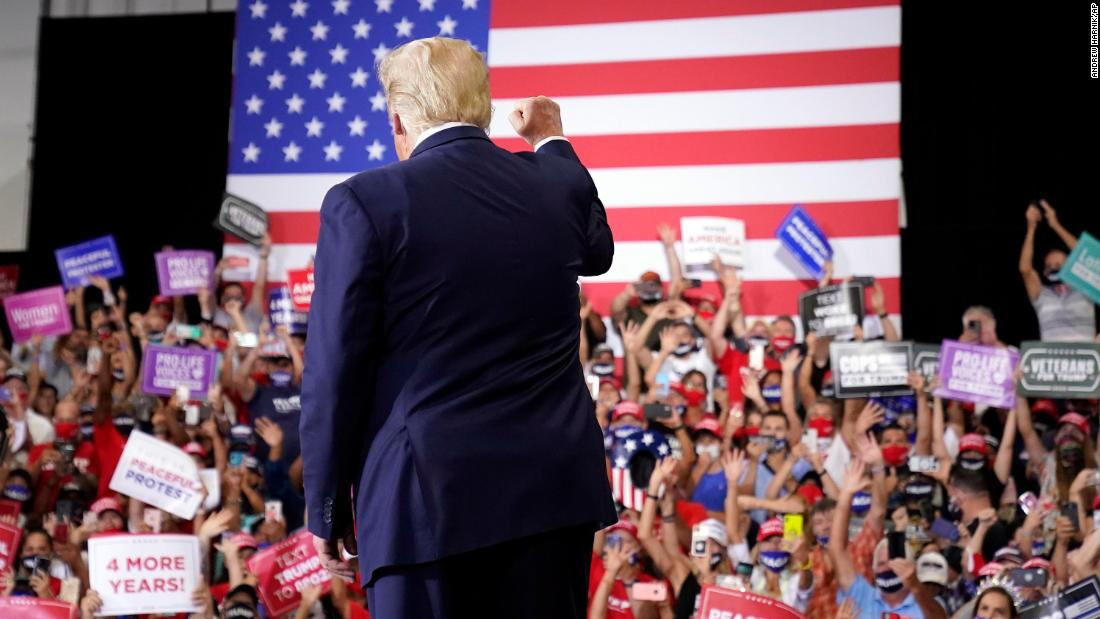 How Donald Trump's indoor campaign rally reveals how little he understands about being president