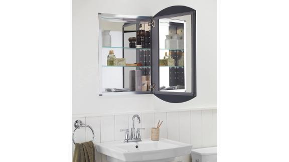 Kohler Archer Frameless Aluminum Bathroom Medicine Cabinet