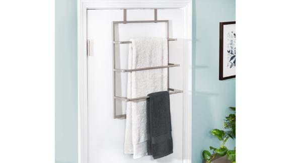 Honey Can Do Over-the-Door Towel Rack
