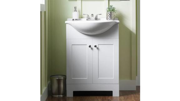 Style Selections Euro Single Sink Bathroom Vanity