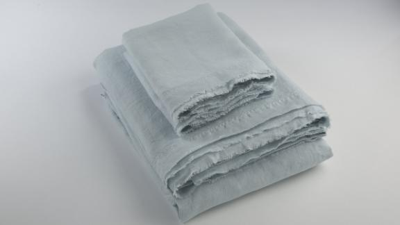 Saphyr Soft Washed Pure Linen Sheet Set