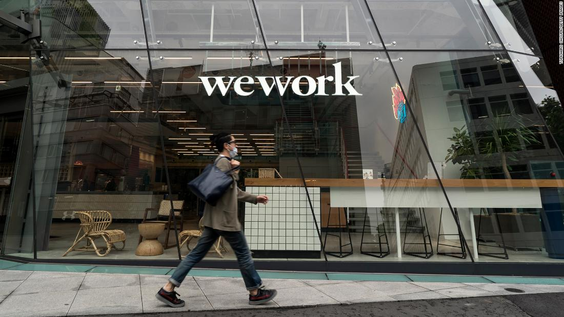 WeWork CEO talks about its new tenants