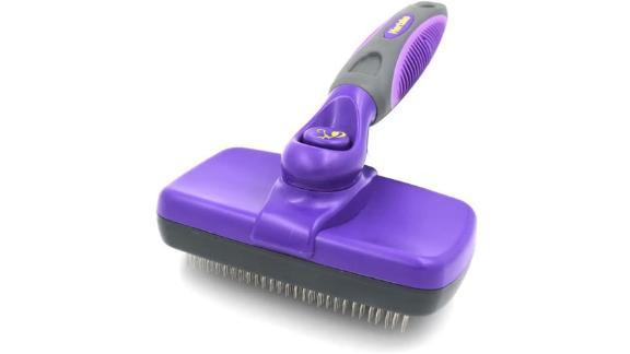 Cepillo de aseo Hertzko Self-Cleaner Slicker