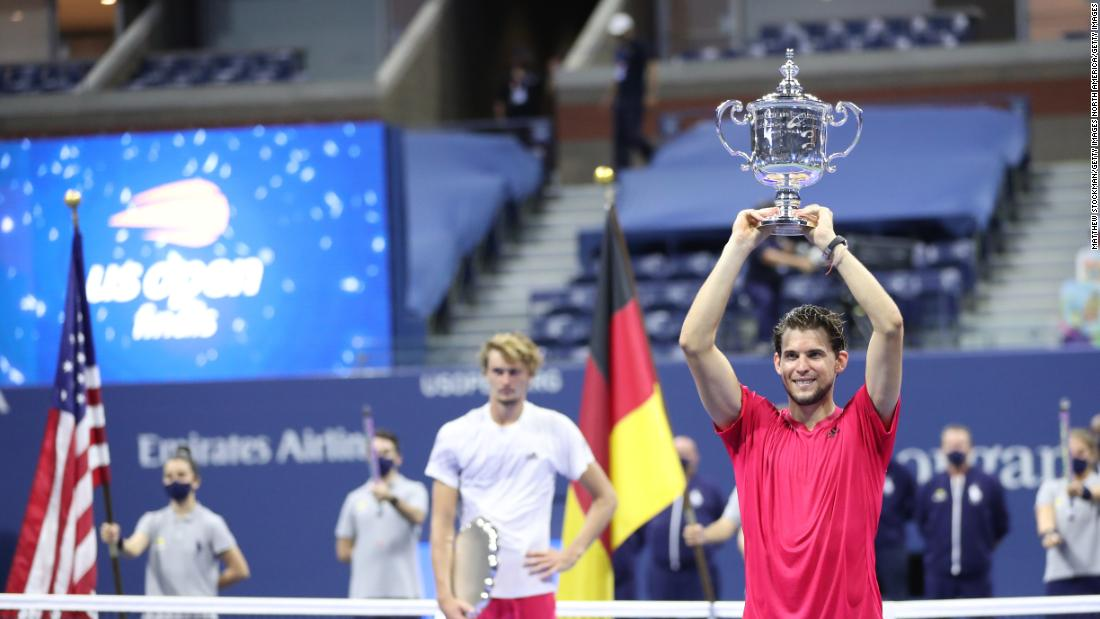 Dominic Thiem dedicates US Open win to family after 'so many sacrifices'