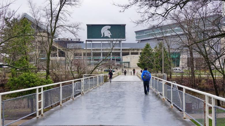 Multiple Michigan State University sororities and fraternities ordered to quarantine for 2 weeks after coronavirus spike is tied to students
