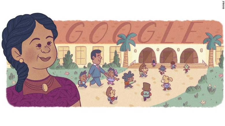 Google Doodle honors civil rights activist who fought school segregation in California in the 1940s