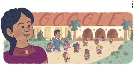 To celebrate Hipanic Heritage Month in the US, Google launched a Google Doodle celebrating Puerto Rican civil rights pioneer and business owner Felicitas Mendez.