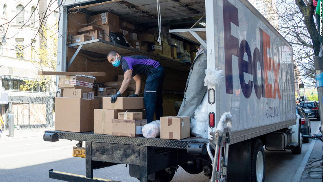 FedEx is hiring 70,000 workers to meet holiday season demand