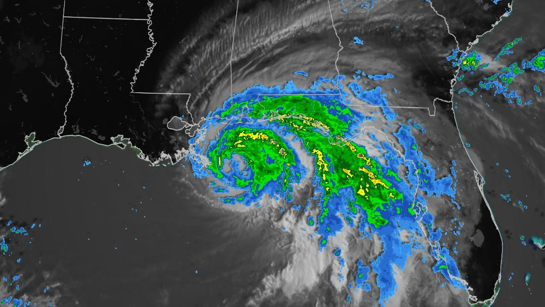 A crawling Hurricane Sally is threatening a 'historic rainfall event' in parts of the Gulf Coast – CNN