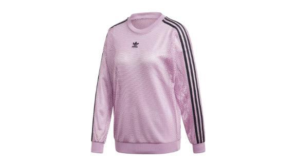 Mesh Crew Sweatshirt